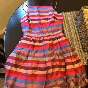 BeBe Striped Mini dress. Colorful!